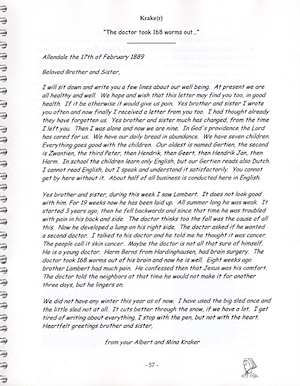 Sample page from book
