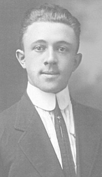 Portrait of Albert Bielefeld around 1920