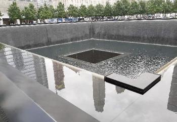 Die Grafschafter Reisegruppe und Ground Zero.