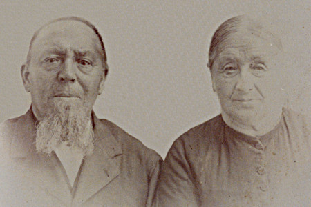 Jennechien Dyke with second husband Berend Roerig