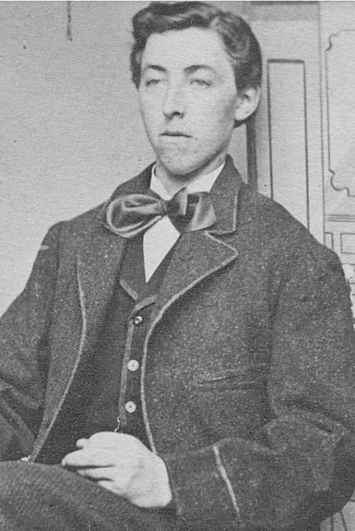 Berend Klukkert portrait in 1867 after arriving in New York