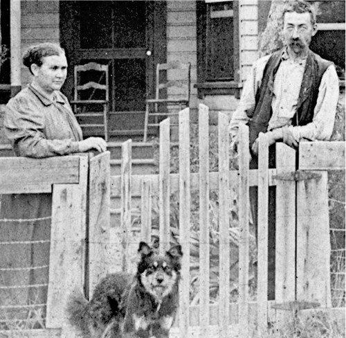 Berend Klukkert and wife Amanda outside their home in Anderson