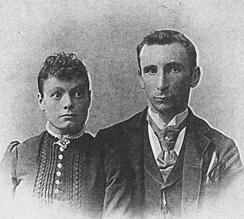 Photograph of Willem Lotterman and wife.