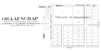 Map of small village