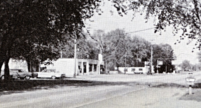 Photo of the hardware store in Pearline, 1956.
