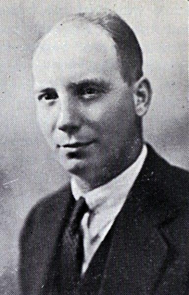 Black and white portrait of Rev. Martin Bolt.