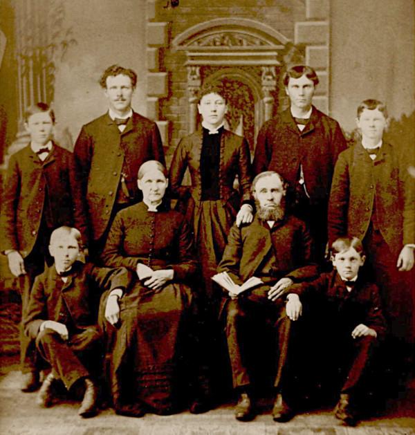 Portrait of the Jan Harm Lemmen family.