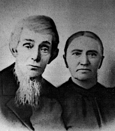 Portrait of Johannes Ten Cate and Lamberdina Lemmen.